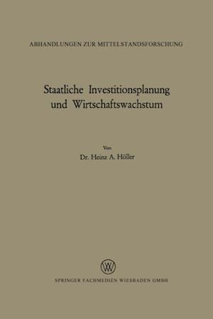 Staatliche Investitionsplanung und Wirtschaftswachstum