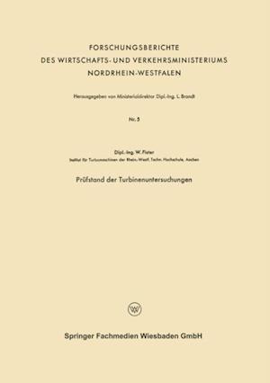 Prufstand der Turbinenuntersuchungen af Werner Fister