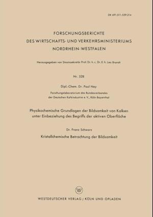 Physikochemische Grundlagen der Bildsamkeit von Kalken unter Einbeziehung des Begriffs der aktiven Oberflache af Paul Ney