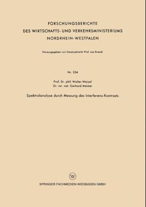 Spektralanalyse durch Messung des Interferenz-Kontrasts af Walter Weizel