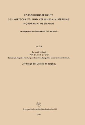 Zur Frage der Unfalle im Bergbau af Helmut Paul