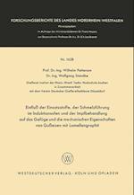 Einflu Der Einsatzstoffe, Der Schmelzfuhrung Im Induktionsofen Und Der Impfbehandlung Auf Das Gefuge Und Die Mechanischen Eigenschaften Von Gueisen Mi af Wilhelm Patterson, Wilhelm Patterson