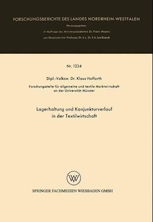 Bog, paperback Lagerhaltung Und Konjunkturverlauf in Der Textilwirtschaft af Klaus Hoffarth, Klaus Hoffarth