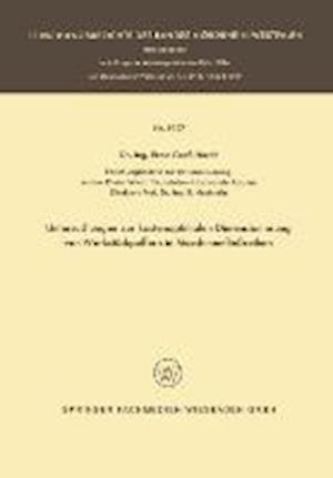 Untersuchungen Zur Kostenoptimalen Dimensionierung Von Werkstückpuffern in Maschinenfließreihen