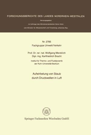 Aufwirbelung von Staub durch Druckwellen in Luft af Wolfgang Merzkirch