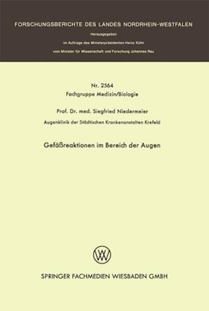 Gefareaktionen im Bereich der Augen af Siegfried Niedermeier