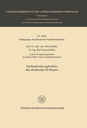 Die Beschreibungsfunktion des schaltenden PD-Reglers af Otto Schafer