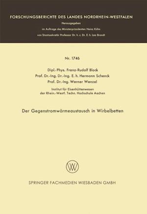 Der Gegenstromwarmeaustausch in Wirbelbetten af Franz-Rudolf Block