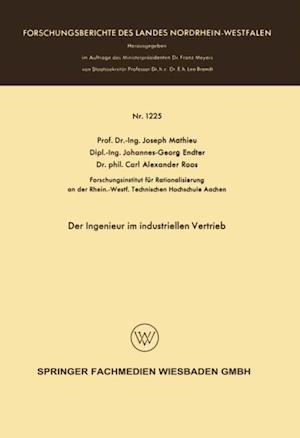 Der Ingenieur im industriellen Vertrieb af Joseph Mathieu