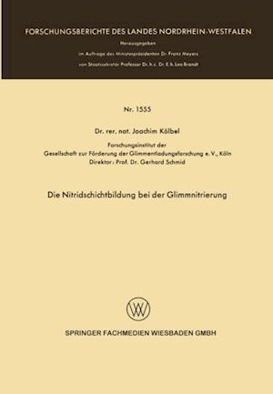 Die Nitridschichtbildung bei der Glimmnitrierung af Joachim Kolbel