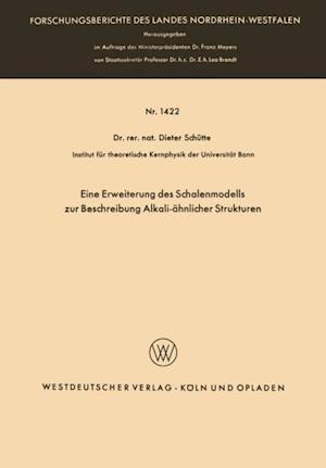 Eine Erweiterung des Schalenmodells zur Beschreibung Alkali-ahnlicher Strukturen af Dieter Schutte