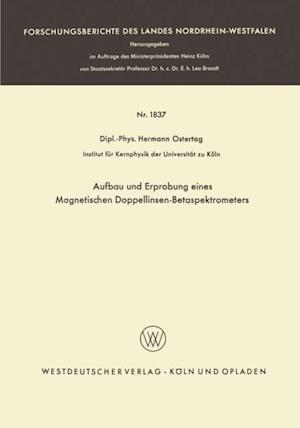 Aufbau und Erprobung eines Magnetischen Doppellinsen-Betaspektrometers af Hermann Ostertag