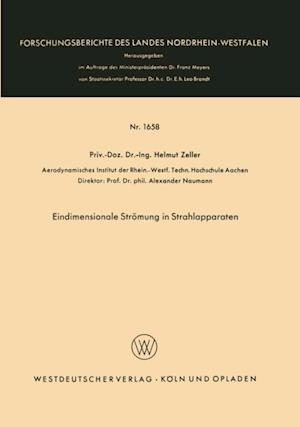 Eindimensionale Stromung in Strahlapparaten af Helmut Zeller