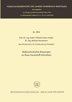 Elektrochemische Messungen an Eisen-Sauerstoff-Schmelzen af Wilhelm Anton Fischer
