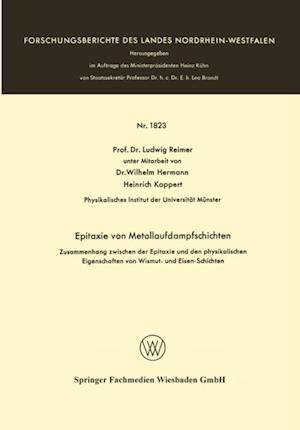 Epitaxie von Metallaufdampfschichten af Ludwig Reimer