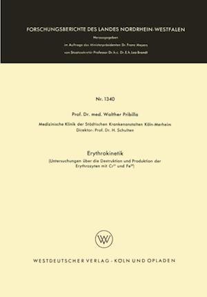 Erythrokinetik af Walther Pribilla