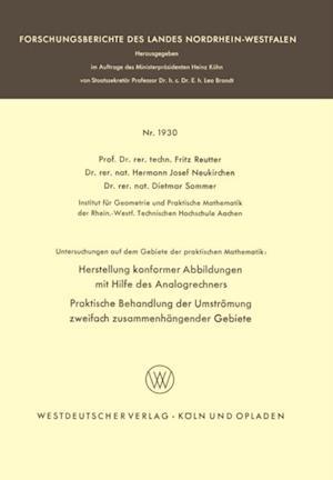 Untersuchungen auf dem Gebiete der praktischen Mathematik af Fritz Reutter, Dietmar Sommer, Hermann Josef Neukirchen