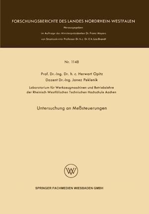 Untersuchung an Mesteuerungen af Herwart Opitz