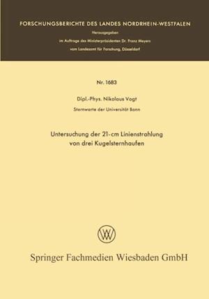 Untersuchung der 21-cm Linienstrahlung von drei Kugelsternhaufen af Nikolaus Vogt