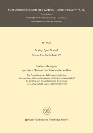 Untersuchungen auf dem Gebiet der Zentimeterwellen af Egon Eickhoff