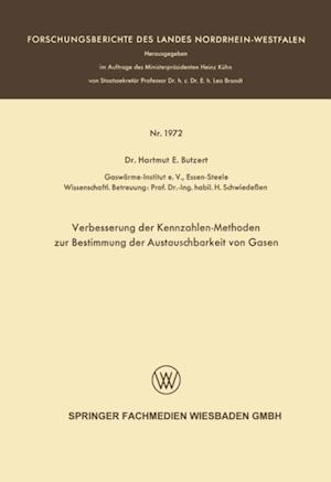 Verbesserung der Kennzahlen-Methoden zur Bestimmung der Austauschbarkeit von Gasen af Hartmut E. Butzert