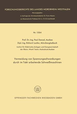 Vermeidung von Spannungsschwankungen durch im Takt arbeitende Schweimaschinen af Paul Denzel