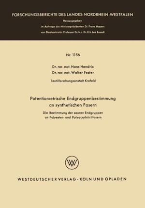 Potentiometrische Endgruppenbestimmung an synthetischen Fasern