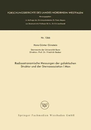 Radioastronomische Messungen der galaktischen Struktur und der Sternassoziation I Mon af Hans-Gunter Girnstein