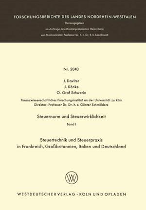 Steuernorm und Steuerwirklichkeit af J. Daviter, J. Konke, O. Graf Schwerin