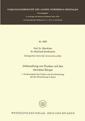Untersuchungen von Drucken auf den tierischen Korper af Otto Kuhn