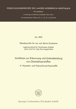 Verfahren zur Erkennung und Unterscheidung von Chemiefaserstoffen