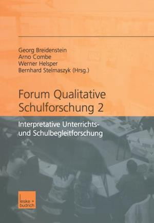 Forum qualitative Schulforschung 2