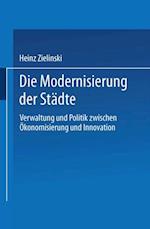 Die Modernisierung der Stadte af Heinz Zielinski