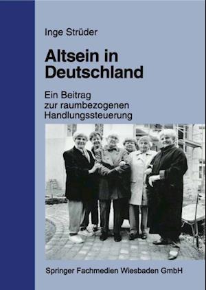 Altsein in Deutschland af Inge Struder