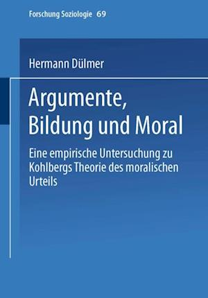 Argumente, Bildung und Moral