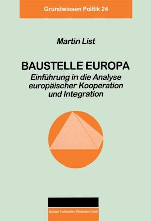Baustelle Europa af Martin List