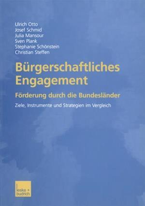Burgerschaftliches Engagement af Josef Schmid, Ulrich Otto, Julia Mansour