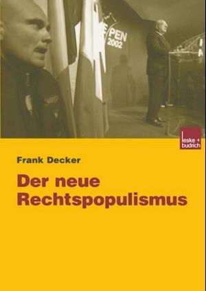 Der neue Rechtspopulismus af Frank Decker