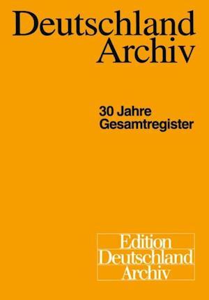 Deutschland Archiv af Gisela Helwig, Christel Marten, Hans-Georg Golz