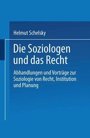 Die Soziologen und das Recht