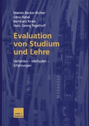 Evaluation von Studium und Lehre af Bernhard Rinke, Marion Becker-Richter, Edna Habel