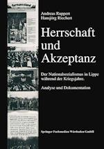 Herrschaft Und Akzeptanz af Hansjorg Riechert, Hansjorg Riechert, Andreas Ruppert