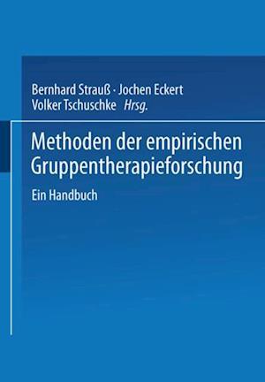 Methoden der empirischen Gruppentherapieforschung