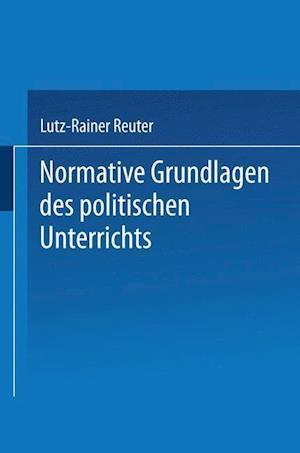 Normative Grundlagen Des Politischen Unterrichts