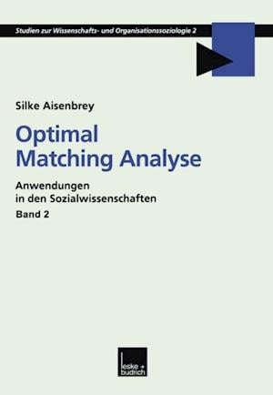 Optimal Matching Analyse af Silke Aisenbrey