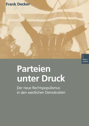 Parteien unter Druck af Frank Becker
