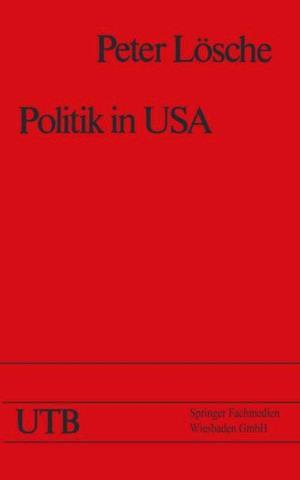 Politik in USA af Peter Losche