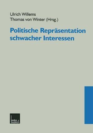 Politische Reprasentation schwacher Interessen