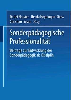 Sonderpadagogische Professionalitat