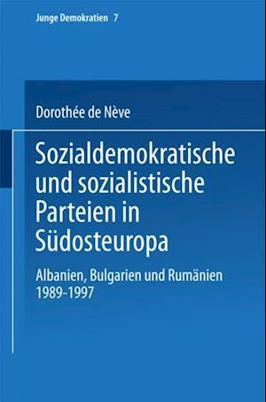 Sozialdemokratische und sozialistische Parteien in Sudosteuropa